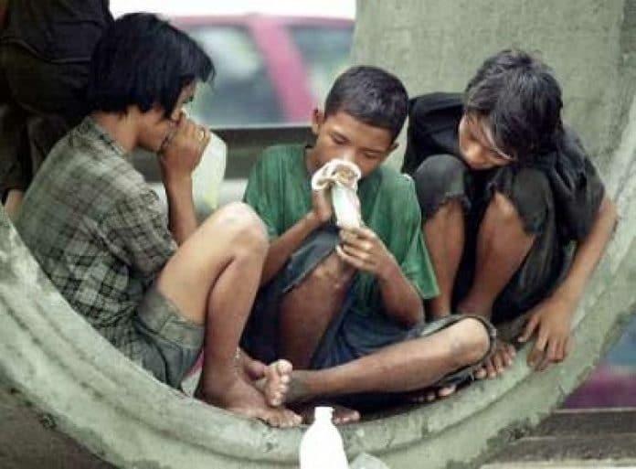 kids taking drugs