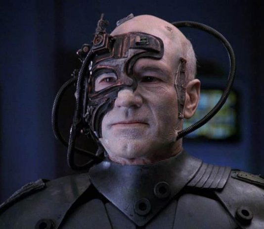 cyborg, a human connected to computer
