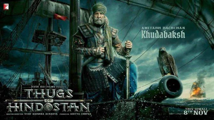 Amitab Bacchan on thhugs of hundastan