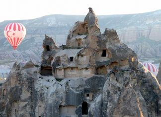 Most mysterious historical places, hot air ballooning in capadocia