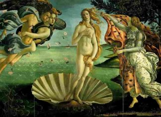 the portrait of Venus with her companion