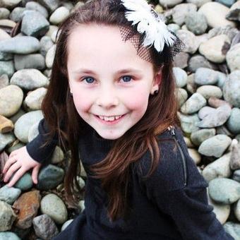 Rachel Beckwith a little kid