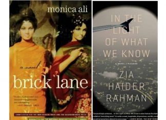 covers of In The Light of What We Know and Brick Lane