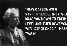 Is it worth arguing with stupid people