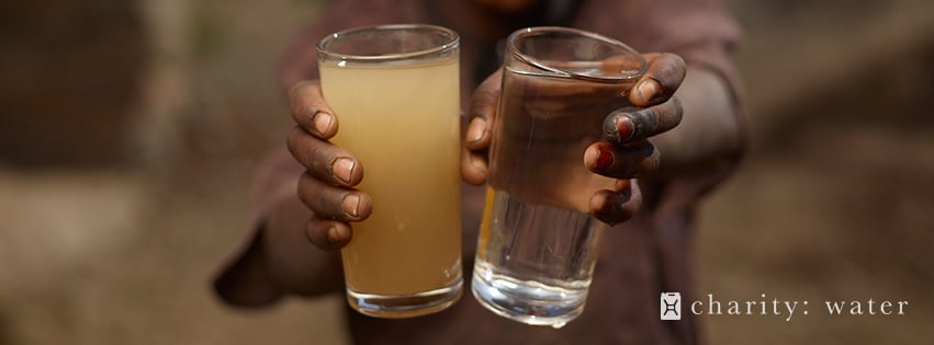Two Glass water
