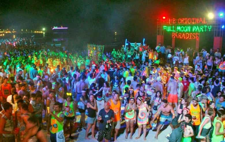 Full Moon Party in Koh