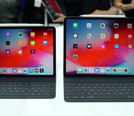 11 an 12.9 inch iPad Pro 2018