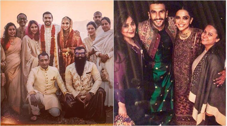 Wedding day picture of Ranveer and Deepika