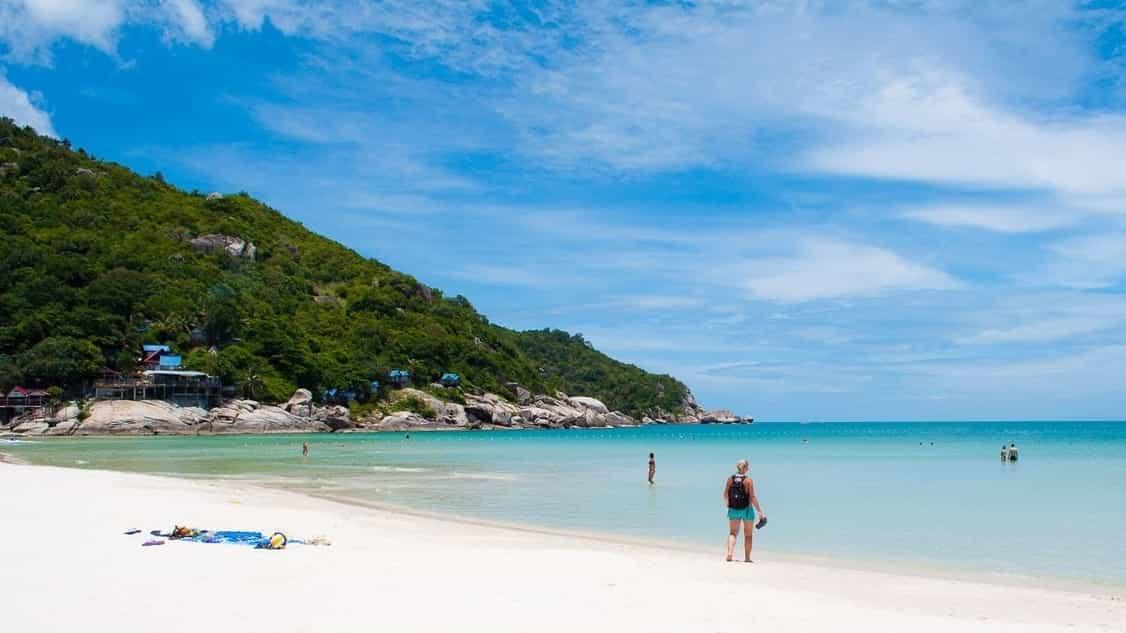 Koh Phanang beach