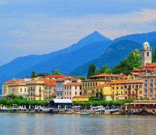 Ballagio port Lake Como