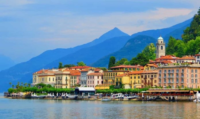 Ballagio port Lake Como