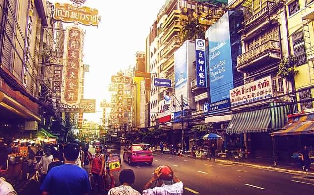 Bangkok city life