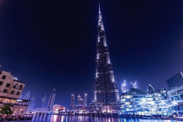Dubai city burj al arab