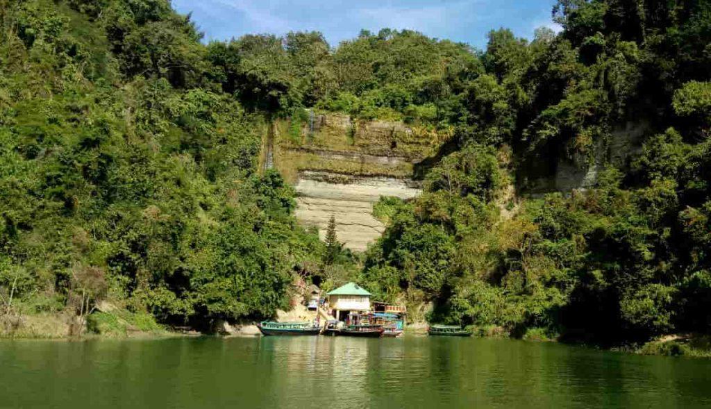 Shuvolong falls kaptai lake rangamati
