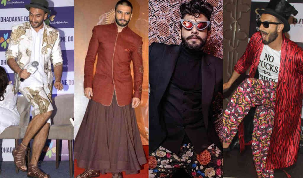 Some other Ranveer Singh dress in different events.