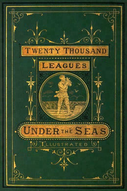 20000 Leagues Under the Sea by Jules Verne original book cover