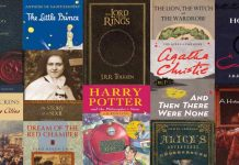 Best-selling books of all time covers