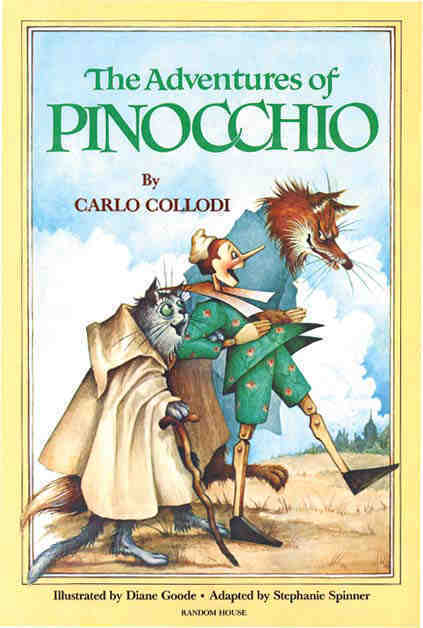 Adventure of Pinocchio is one of the Best selling book of all time