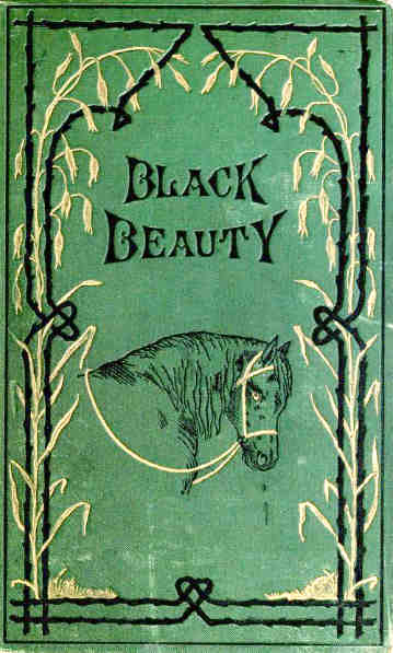 Black Beauty by Anna Sewell original book cover