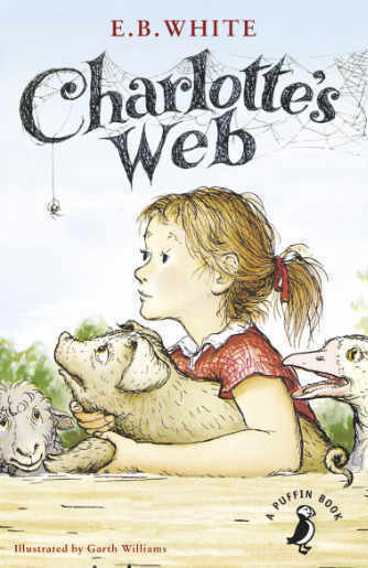 Charlotte's Web by E.B. White book cover photo