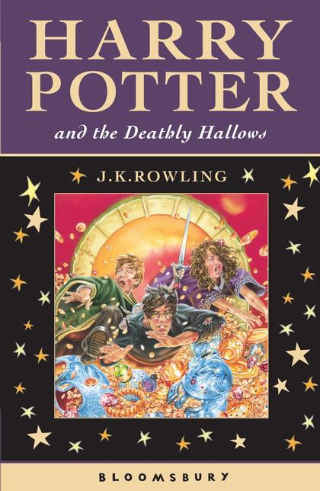 Harry Porter and The Deathly Hallows by J. K. Rowling cover photo