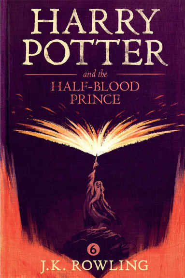 Harry Porter and The Half Blood Prince by J. K. Rowling book cover
