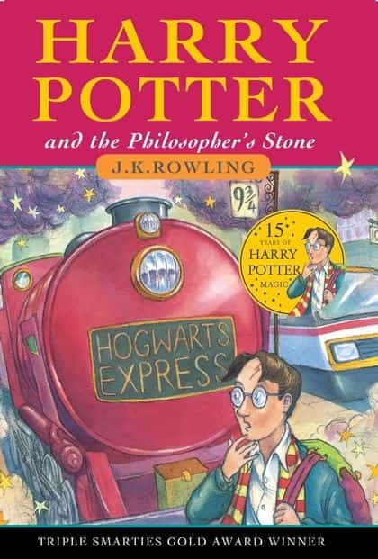 Harry Porter and The Philosopher's Stone the top selling book of harry potter series