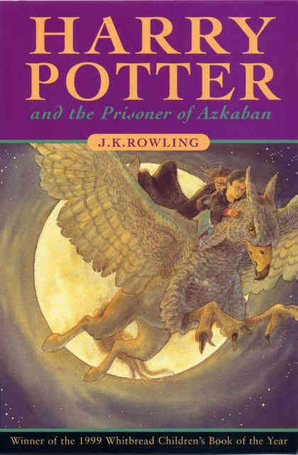 Harry Porter and The Prisoner of Azkaban by J. K. Rowling one of the best selling books among harry potter series