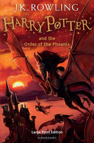 Harry Porter and the Order of The Phoenix cover photo