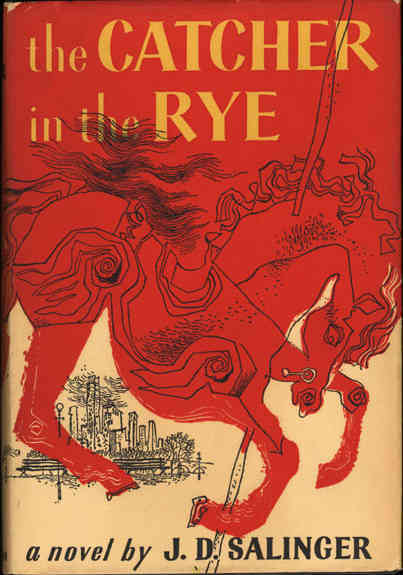The Catcher in The Rye by J. D. Salinger  cover photo