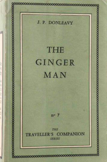The Ginger Man by J. P. Donleavy book cover and it is the 40th best selling book of all time
