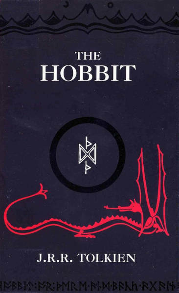The Hobbit by J.R.R Tolkien cover