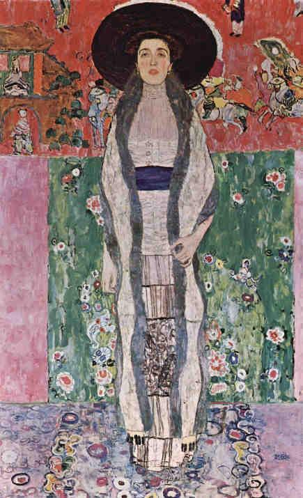 Adelle Bloch Bauer-II by Gustav Klimt