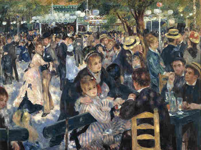 Bal Du Moulin De La Galette by Pierre Auguste Renoir