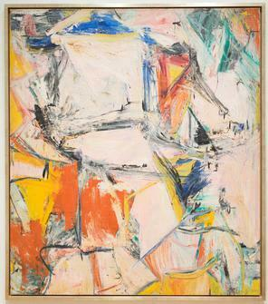 Interchange by William de Kooning  More than 300 million dollars painting. Which makes this painting as a second most expensive paintings in the world.