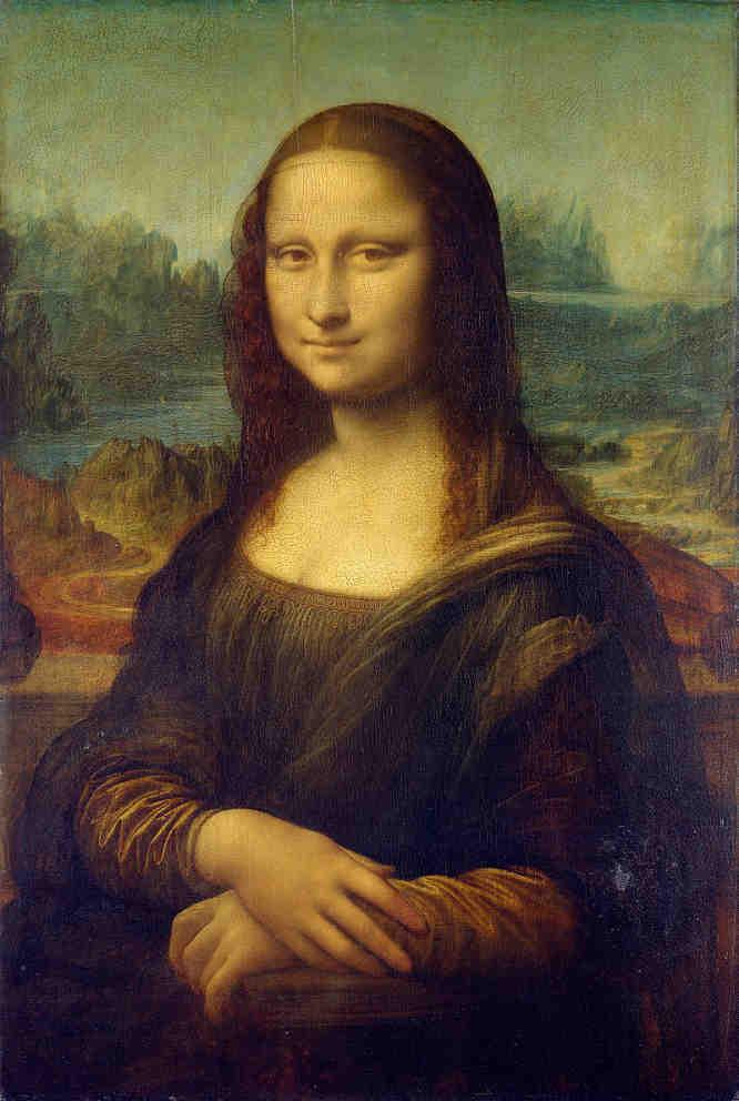 Monalisa by Leonardo de Vinc - Most valuable painting in the world