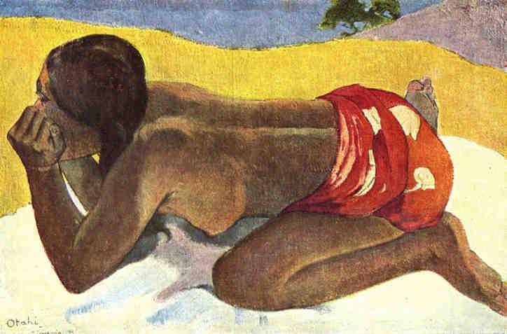 Otahi by Paul Gauguin