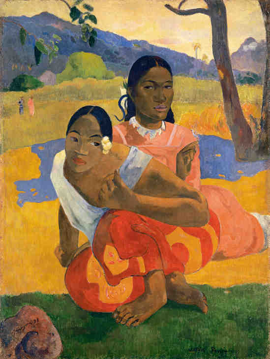 Nafea Faa Lpoipo (When Will You Marry) by Paul Gauguin - 4th most expensive painting
