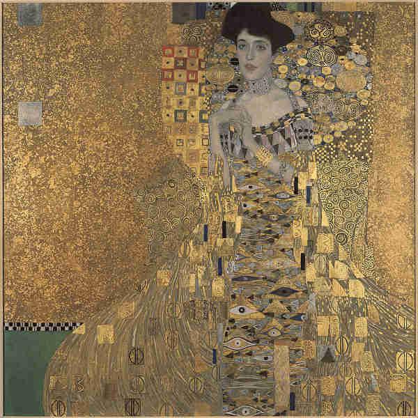Portrait of Adelle Bloch Bauer by Gustav Klimt