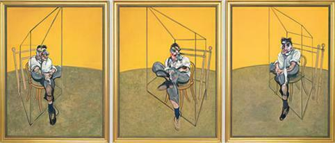 three studies of lucian Fraud by Francis bacon