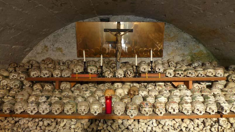 Bone House Hallstatt Austria