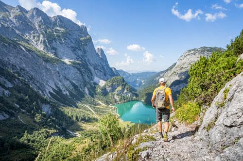 Hiking near Hallstatt