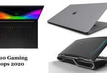 10 best gaming laptops 2020