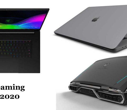 10 best gaming laptops 2020