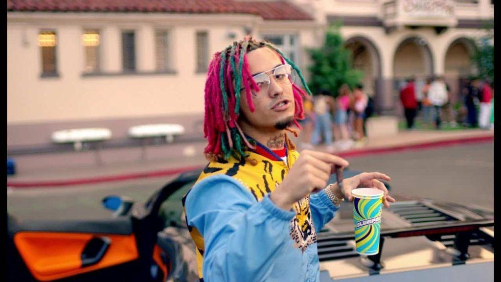 Lil Pump in Gucci Gang