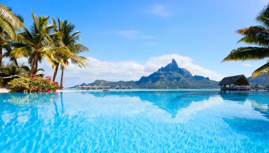 Bora Bora Island one of the most beautiful island in the world