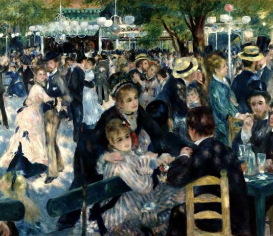 Bal Du Moulin De La Galette (Dance at Le moulin de la Galette) analysis