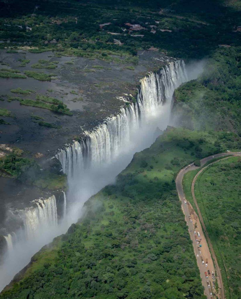 Victoria Falls (Zambia and Zimbabwe)
