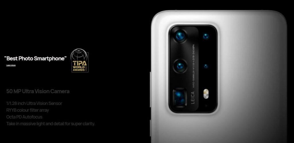Huawei P40 Pro + camera
