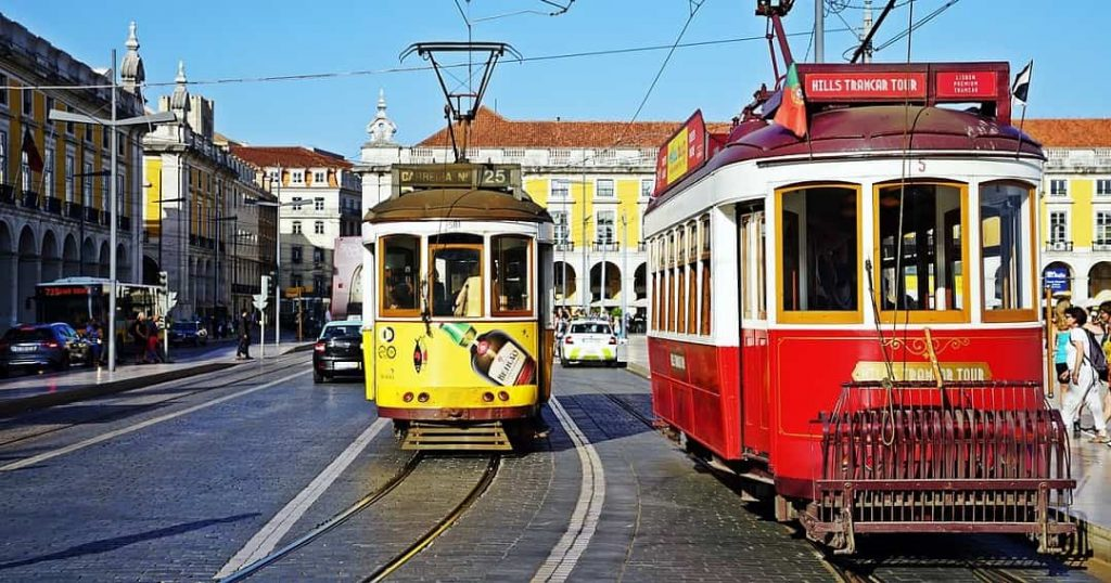 Lisbon - Portugal one of the most colorful cities in the world